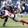Seahawks Rain on Giants