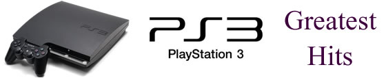 PS3 Greatest Hits features
