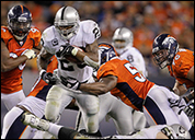 Raiders vs. Broncos, Tuesday, September 13, 2011