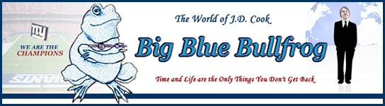 Big Blue Bullfrog header from 2008