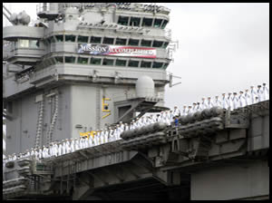 USS Abraham Lincoln - May 1, 2003