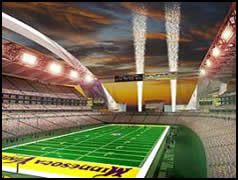 Potential New Vikings Stadium
