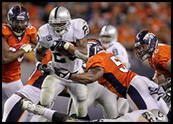 Raiders-Broncos, Tuesday morning, 09-13-11