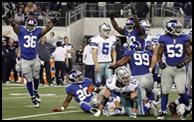 Giants vs. Cowboys 12/11/11