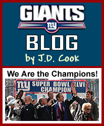 Giants Blog by J.D. Cook