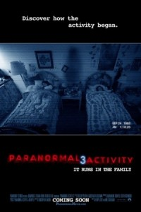 Ad for Paranormal Activity 3