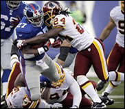 Redskins vs. Giants 12/18/11