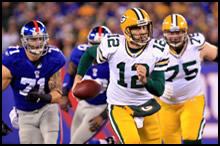 Packers vs. Giants on December 4th