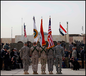 Ceremony for Leaving Iraq