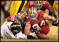 49ers beat Steelers on Monday 12/19/11