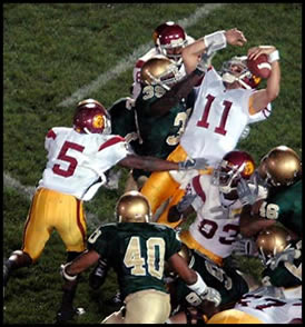 USC vs. NotreDame on October 15, 2005