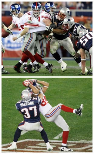 Incredible Play by Eli Manning and David Tyree