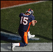 Tim Tebow has led the Broncos to the playoffs