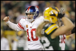 Giants defeat Packers in the NFC Divisional Playoffs