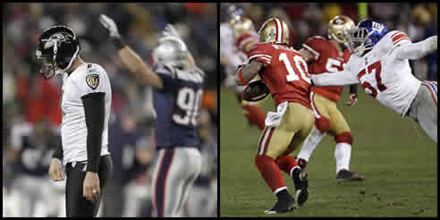 Billy Cundiff and Kyle Williams