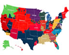 NFL Facebook fan map