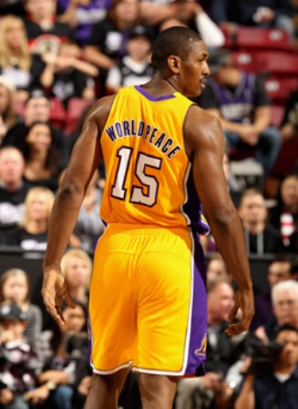 Meta World Peace, Ron Artest's New Name