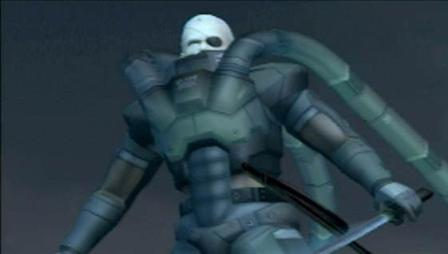 The leader of the Sons of Patriots Solidus Snake