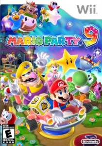 Mario Party 9 Cover Art