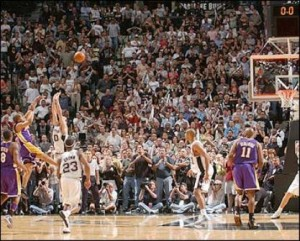 Fisher's famed jump shot