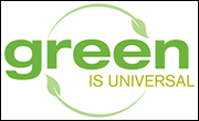 Green Is Universal slogan
