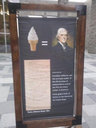 Ice Cream = Jefferson?