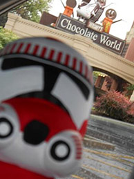 Storm Trooper in Chocolate World
