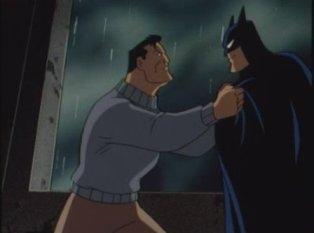 Wayne confronting Batman?