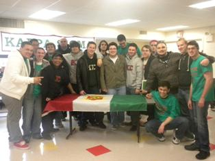 The Rho-Sigma Chapter of the Kappa Sigma Fraternity