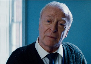 Michael Caine in the aforementioned emotional scene