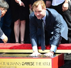Nolan at the Grauman's Chinese Theater