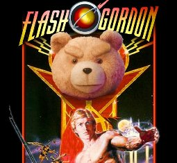 Ted as Ming in Flash Gordon