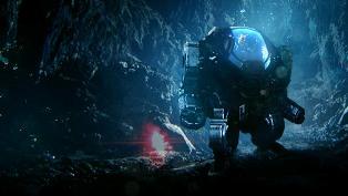 Shep under water