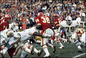 Dolphins vs Chiefs on Christmas Day 1971