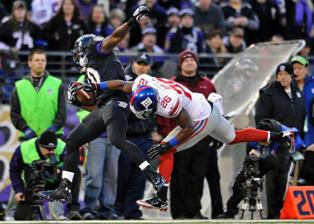 Giants Fall to the Ravens