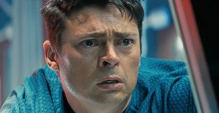 Karl Urban in Star Trek Into Darkness