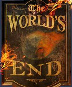 The World's End Sign Post
