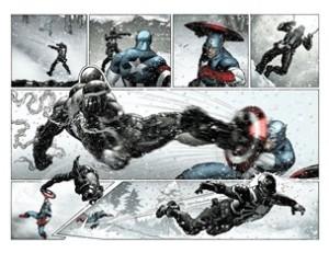 Cap Vs Venom