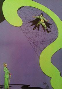 Batman in the Riddler's Web