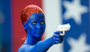 Mystique Aiming to Kill