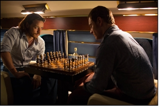 Xavier and Magneto play Chess