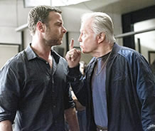 Jon Voight and Ray Donovan